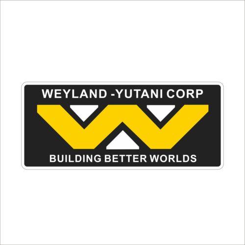 Weyland Yutani Corp Cool Vinyl Danger Car Motors Smooth Surface Decal Decor 1pc