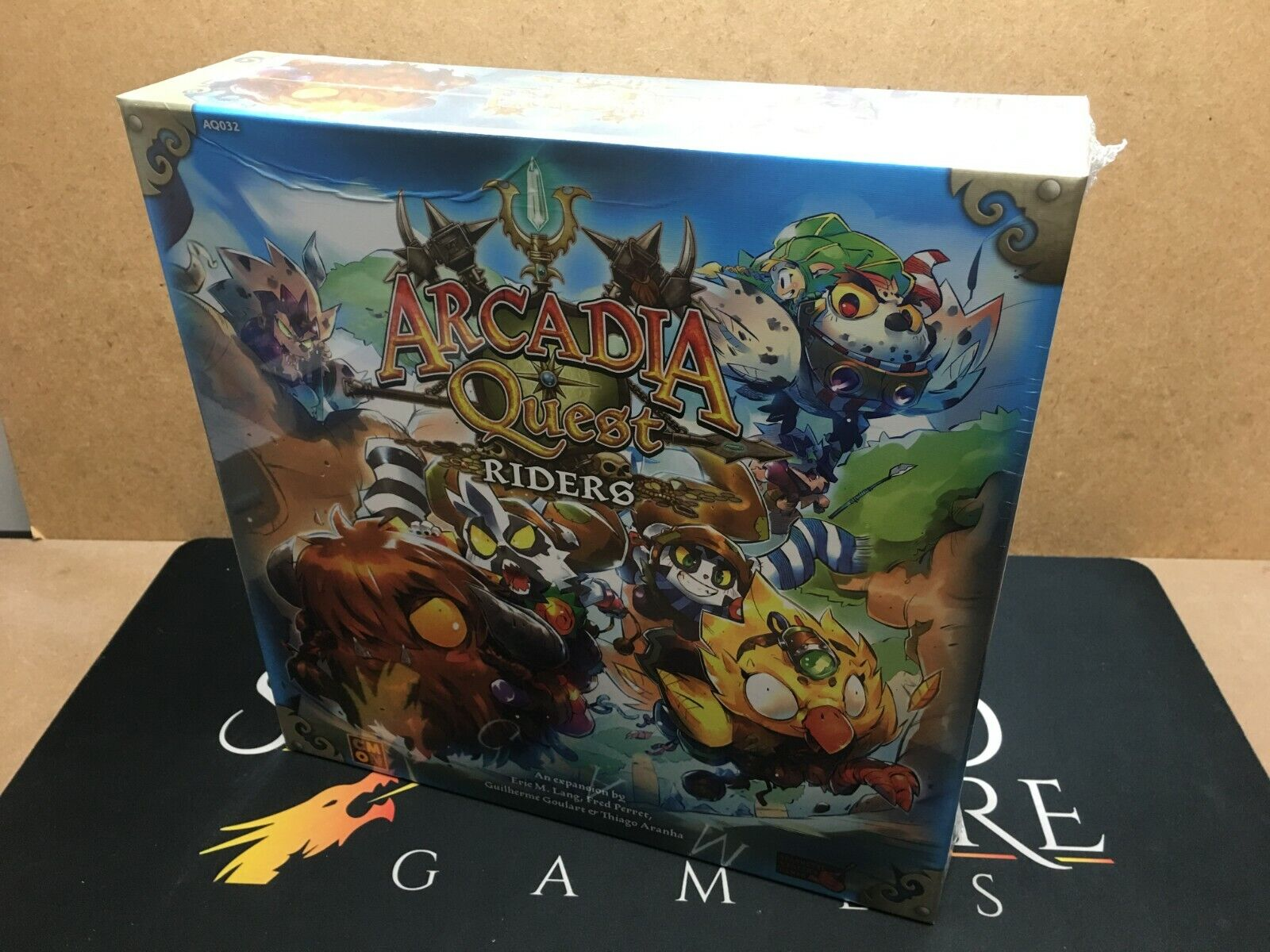 Arcadia Quest  Riders Board Game - CMON Limited (Genuine Sealed English)