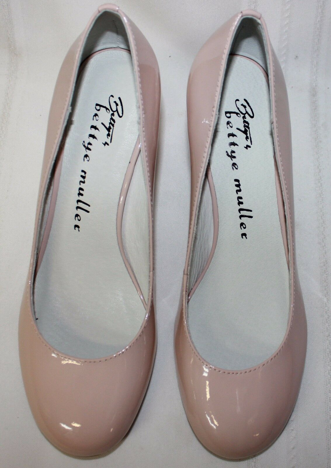 Bettye Bettye Bettye by Bettye Muller Colette Blaush Patent Leather Pumps schuhe New With Box 145d16