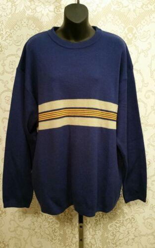 para de Obzeyer larga azul Suéter de Sz cuello redondo con hombres 2105 lana manga L mezcla y 7wH8nFPw