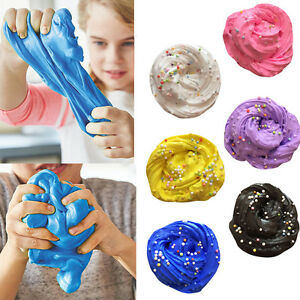 Fluffy-Floam-Slime-Scented-Stress-Relief-No-Borax-Kids-Toy-Sludge-Toys-Gift-FUN
