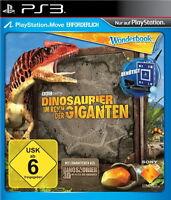Dinosaurier Im Reich der Giganten - Wonderbook / Move - SONY PlayStation 3 / PS3