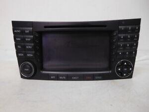 07-2007-Mercedes-E-Class-Navigation-Audio-Radio-Player-Display-Screen-OEM-LKQ