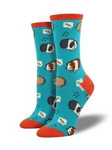 Blue-Guinea-Pig-Socks-Ladies-Pigs-Girls-Gift-Socksmith-Christmas-Secret-Santa