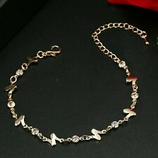 #3036 New Arrival Summer Hottest Jewelry Gold Plated Number N Charm Bracelets