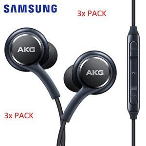 (CHRISTMAS SALE) 3x pack OEM Samsung AKG Headphones ( ALL ANDROID PHONES)