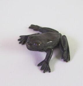 kleiner-Frosch-Art-Deco-Bronze