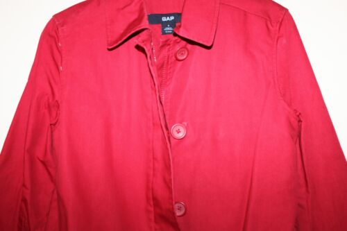 cotone rosso 100 Trench Gap Donna S Nwot Ww4PEU0Eq