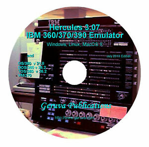 Details about IBM mainframe emulation software, OS/360 DOS/360 VM/370