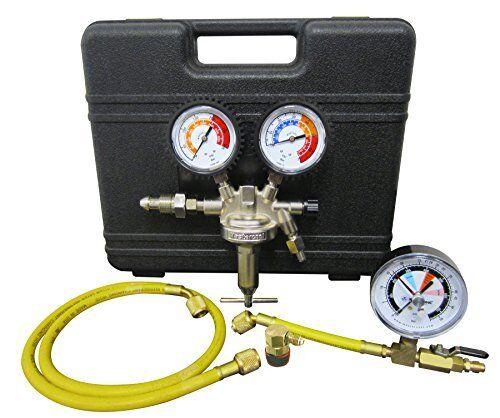 Mastercool 53010-AUT Nitrogen Leak Test Kit W/automotive Coupler (53010aut)