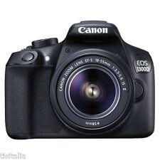 Fotocamera Reflex CANON EOS 1300D EF-S 18-55 IS II Sensore CMOS 18Mpx Full HD
