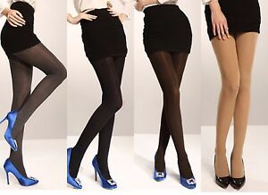 4dd8813fbf2ea Image is loading 200-Denier-Winter-Quality-Opaque-Tights-Plus-Size-
