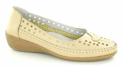 f3101- Damen Eaze beige ohne Bügel Schuhe- TOLLER PREIS