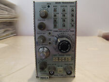 Tektronix 7B92A Dual Time Base Oscilloscope Plug-In