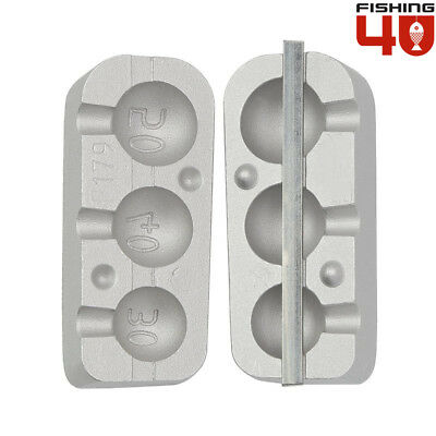 Round JigHead Fishing Mould 40g //60g //80g//90g Fishing jig Aluminium Mould Jigs