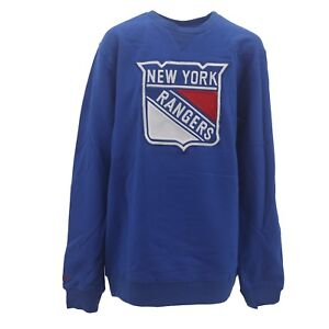 online store 6e465 2975c Details about Reebok New York Rangers Kids Youth Sweatshirt NHL Official  Stitched Logo New