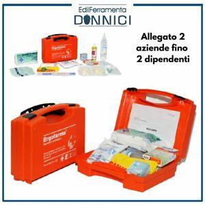 Cassetta valigetta medica kit di primo pronto soccorso con allegato2 per aziende