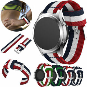 For-Samsung-Gear-S3-Classic-Frontier-Genuine-Nylon-Wrist-Band-Watchband-Strap