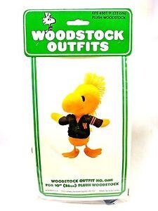Vintage 1965 Peanuts Woodstock Wardrobe #0614 Varsity Sweater Plush Clothes UFS