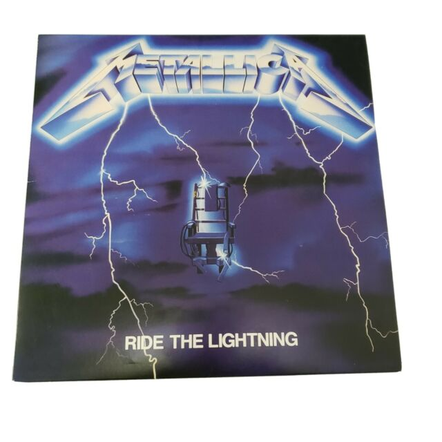Metallica Ride the LighteningVinyl LP BLCKND004R-1