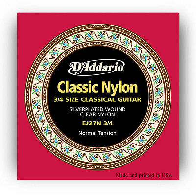 D Addario Nylon Classical Guitar Strings : d 39 addario ej27n 3 4 student nylon classical guitar strings normal tension 19954962401 ebay ~ Russianpoet.info Haus und Dekorationen