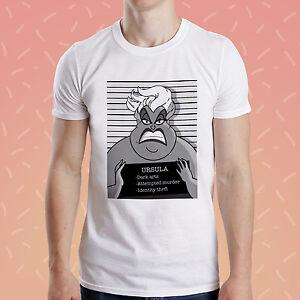 Ursula-format-a-la-francaise-T-shirt-Princesse-Drole-criminel-Octopus-Tee-Sirene-mechant