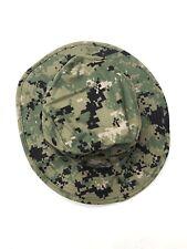 item 2 US Navy NWU Type III AOR2 Boonie Hat Sun Cover Woodland Small New  -US Navy NWU Type III AOR2 Boonie Hat Sun Cover Woodland Small New f4893d7037b