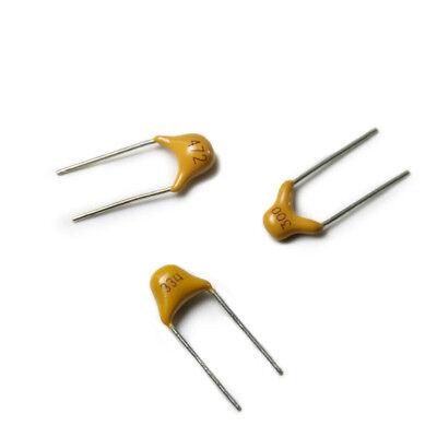 16V 25V 35V 50V DIP Tantalum Capacitor 2.54mm ±10/% 0.47//1//2.2//4.7//10//22//47UF IL