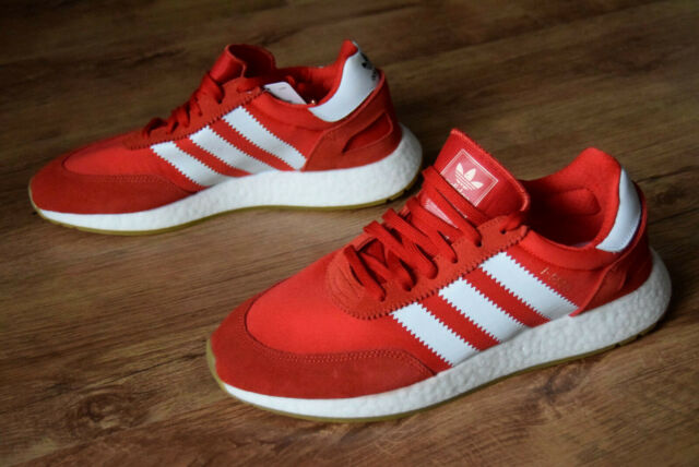 outlet boutique separation shoes official photos adidas Iniki Runner Herren Sneaker EU 44 2/3 / UK 10 rot