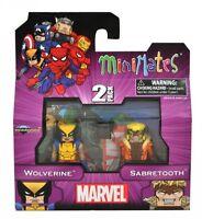 Diamond Select Marvel Wolverine & Sabretooth Minimates Two Pack