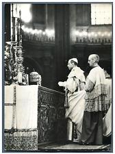 Vatican, Couronnement du Pape Pie XII  Vintage silver print Tirage argentique