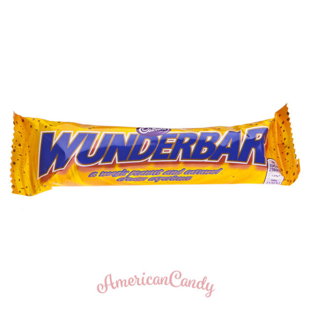 12x Cadbury Wunderbar Erdnussbutter Karamel Riegel Ebay