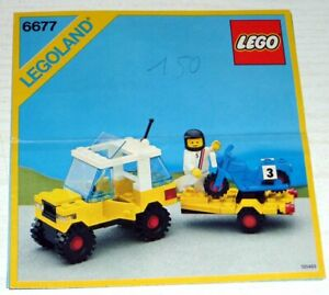Lego-City-Motocross-Racing-6677-inkl-OBA-ohne-Box