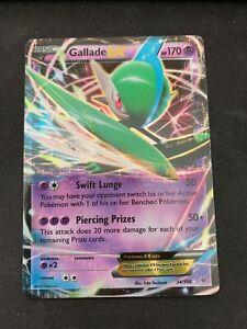 Gallade EX 34//108 Roaring Skies Rare Holo ex Mint Pokemon Card