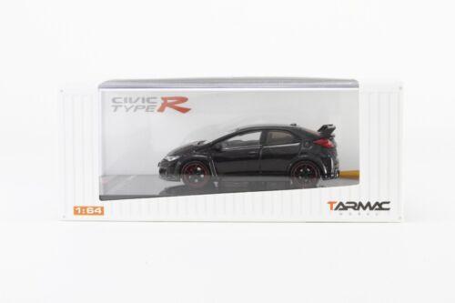 Tarmac Works 1//64 Honda Civic Type R FK2 Crystal Black Pearl T64-003-BK