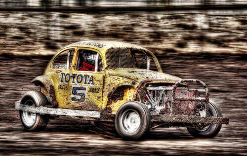Beetle Sport Racing Car Speed HD POSTER