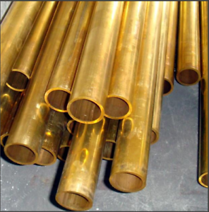 306mm length brass tube pipe hollow vessel H62 duct fistula 8mm outer DIA