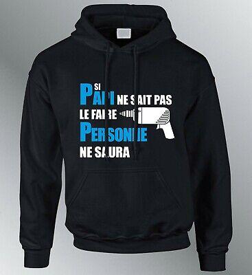 Sweat shirt Je suis PAS VIEUX je suis VINTAGE humour papi papy grand-pere père