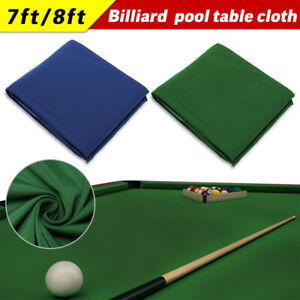 Worsted Wool+Nylon Pool Table Cover 8 FT Snooker Table Billiard Pool Table Cloth