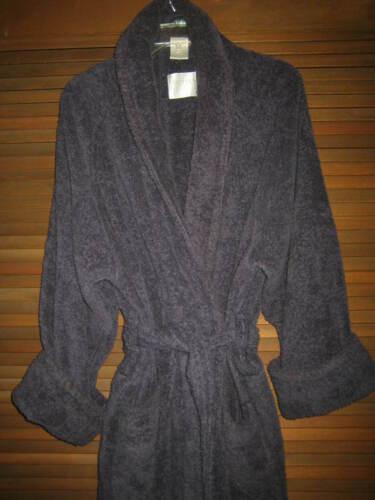 FRETTE NAVY TERRY CLOTH ROBE SLEEPWEAR EXC.CONDITI