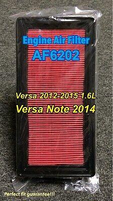 AF6202 Engine Air Filter for 2012-2015 Versa Versa Note 1.6L Engine