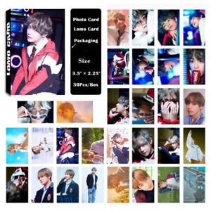 Cute 30pcs/set Kpop BTS Bangtan Boys V love yourself Photo Card Lomo Cards