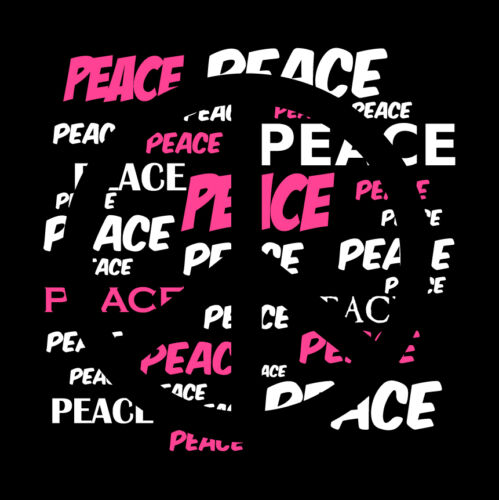 Peace Sign Womens T Shirt No War Hippie Symbol Seventies /'70 70/'s 1970 Woodstock