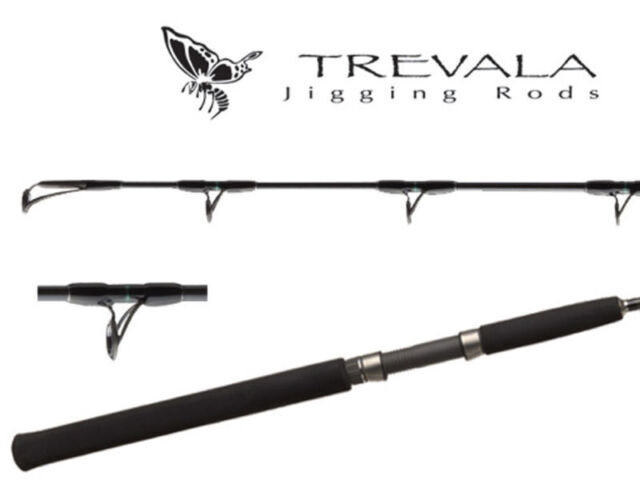 "Shimano Trevala Butterfly Jigging Casting Rod TVC66MH2 6/'6/"" Medium Heavy 2pc"
