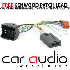 PC99-X81 KENWOOD Vauxhall Corsa 2004 On Steering Wheel Interface Adaptor Lead