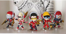 "4"" LOL League of Legends SKT1 Faker Zed Jax Vayne Lee Sin Zyra Figure Figurine"