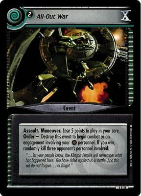 Fanatical Lieutenant 4R157 Star Trek CCG 2E Necessary Evil Crosis