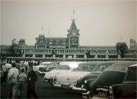 Disneyland 1950's Parking Lot Entrance NEW Awesome! Long gone NO Monorail Beam