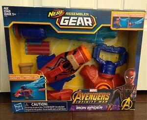 Marvel-Avengers-Infinity-War-Iron-Spider-Nerf-Assembler-Gear-Water-Gun
