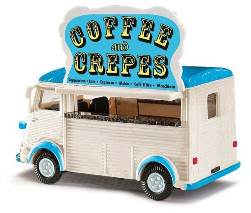 Busch 41926-1//87 Citroen H Verkaufswagen Coffee and Crepes Neu